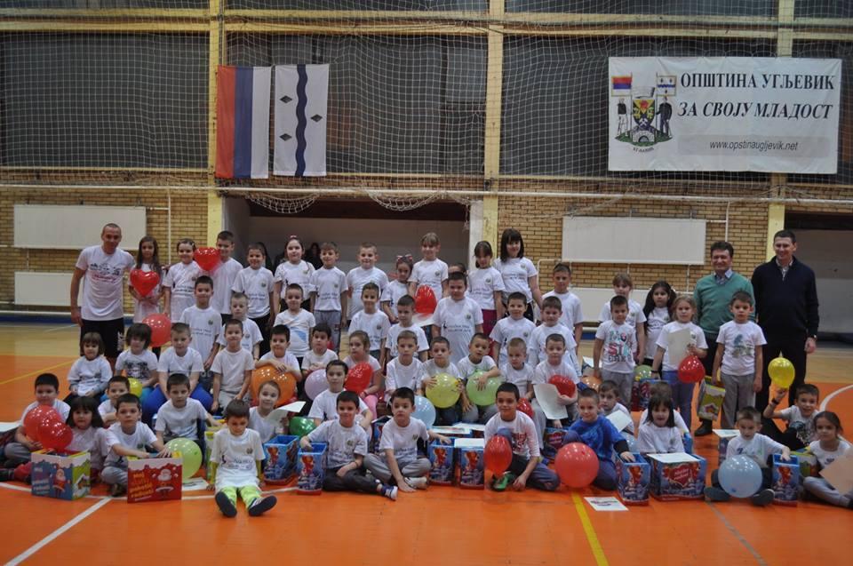 Škola sporta za djecu od pet do 10 godina