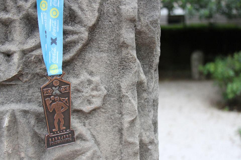 Medalja X. Sarajevo Coca-Cola Polumaratona