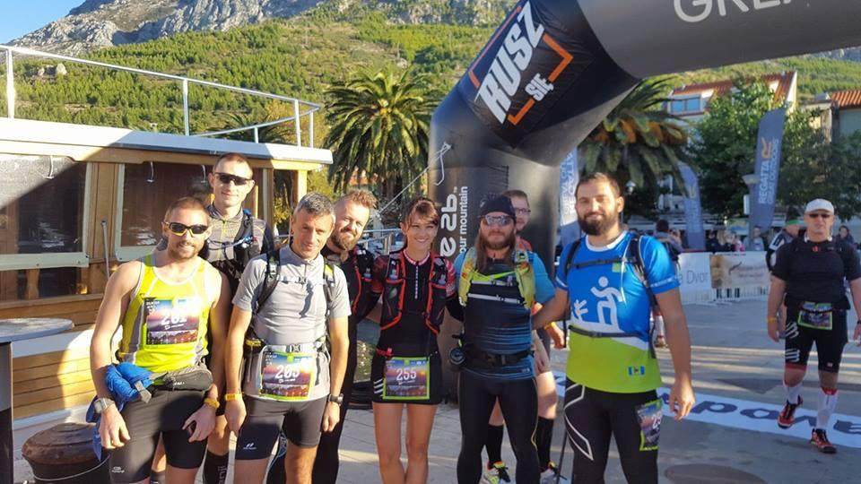 Dio bh. trkača na Dalmacija Ultra Trailu
